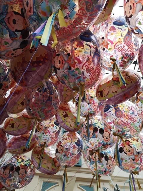 ディズニーランドお土産 風船1,000円画像