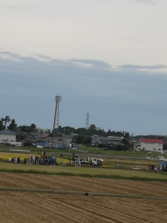 下町ロケットのロケ地新潟県燕市のロケの様子画像