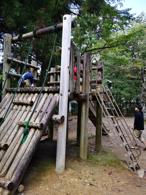 加茂山公園アスレチック画像