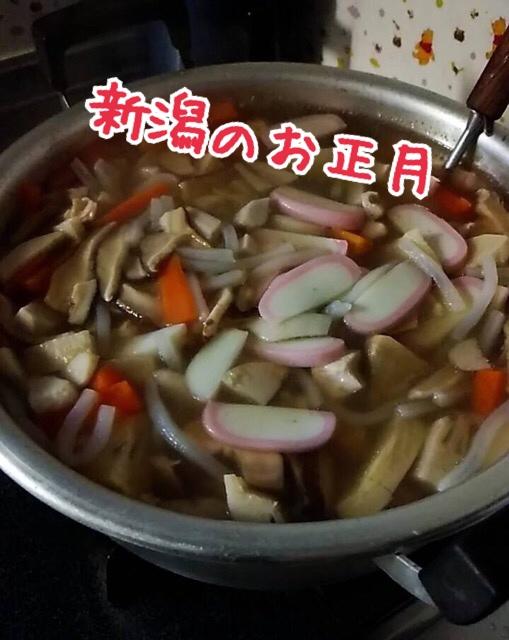 新潟のお正月料理のっぺい汁画像